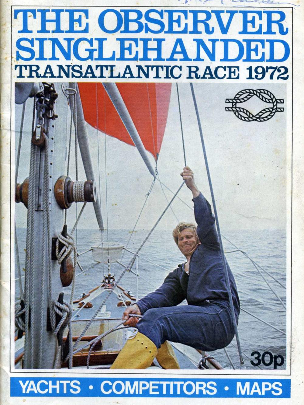 Observer Singlehanded Transatlantic Race 1972